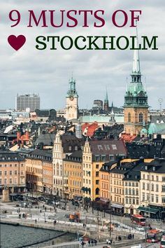 Stockholm is absolutely one of our favourite capitals, it's impossible not to love it. Let us tell you about 9 things we loved about Stockholm the most. Stockholm Old Town, Stockholm Travel, Stockholm 2017, Dubrovnik, Baltic Sea Cruise, Voyage Suede, Kingdom Of Sweden, Sweden Travel, Sweden Tourism