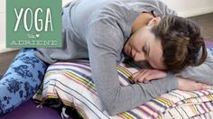 Yoga For When You Are SICK - Yoga With Adriene Did this and it really made the sick more suffarable
