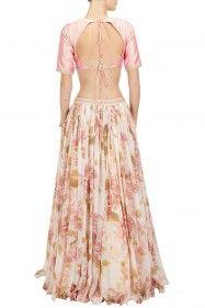 i love the flower print skirt! -Sonal Kalra Ahuja