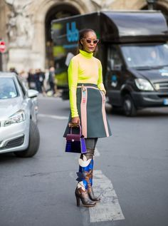 Pin for Later: Le Meilleur du Street Style Vu à la Fashion Week de Paris Paris Fashion Week, Jour 7