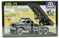 "Italeri BM-13 ""Katyusha"" Multiple Rocket Launcher 1/35 6242 Plastic Model Kit"
