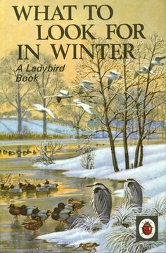 """What To Look For in Winter"". Cover illustration by C. F. Tunnicliffe"