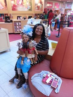 It is always a ton of Fun at American Girl Doll Store Dallas.