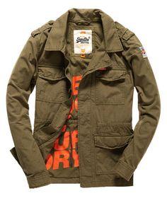 Superdry Rookie Military Blazer