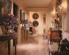 Very French inspired hallway