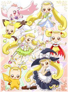 Tags: Anime, Baby, Fairy, Witch, Ojamajo DoReMi, Witch Hat, Pokémon
