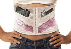 Corchic corset holster
