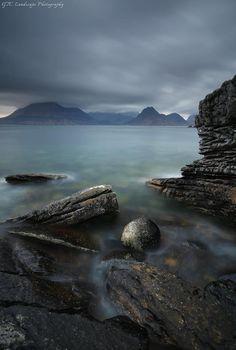 Misty Blues at Elgol, Isle of Skye, Scotland