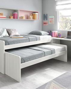 Un espacio pequeño no tiene por qué ser un impedimento para conseguir tener un Room Design Bedroom, Girl Bedroom Designs, Small Room Bedroom, Home Bedroom, Girls Bedroom, Bedroom Decor, Bedroom Ideas, Small Room Design, Kids Room Design