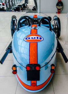 Morgan Three Wheeler Gulf Livery