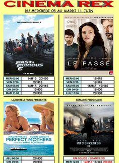 Programme du cinéma REX pour cette semaine :