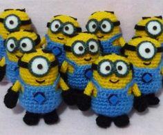 Crocheted Minions: Despicable Amigurumi