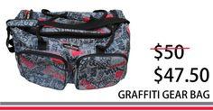 Graffiti Horse Gear Bag / Sports Gear Bag / Overnight Bag