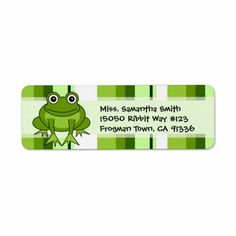 >>>best recommended          Cute Frog Green Stripe Return Address Labels           Cute Frog Green Stripe Return Address Labels We have the best promotion for you and if you are interested in the related item or need more information reviews from the x customer who are own of them before plea...Cleck Hot Deals >>> http://www.zazzle.com/cute_frog_green_stripe_return_address_labels-106044167261231571?rf=238627982471231924&zbar=1&tc=terrest