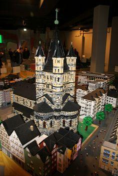 Kölner Altstadt aus Legosteine | Flickr - Photo Sharing!
