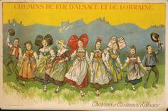 Chateaux et costumes d'Alsace