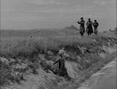 La Strada 1954 Gelsomina finds music on the crossroads of life and follows it.