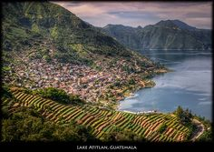 Panajachel, city on Lake Atitlán, Guatemala Places To Travel, Places To See, Travel Destinations, Time Travel, Latina, Atitlan Guatemala, San Pedro, Guatemala City, Beautiful Places In The World