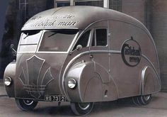 1936 Holland Albion, built by Holland Coachcraft in Scotland, based on an Albion chassis.