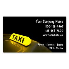 Taxi Business Cards New Make Your Own Card With This Great Design All