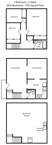 12 3 bedroom apartment floor plans in colorado springs co aspen townhomes apartments colorado springs co malvernweather Images