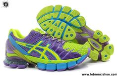 New Asics Kinsei 4 Womens Laser Purple Lome Green Blue Pink Basketball Shoes Shop