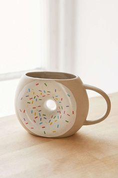 Donut Coffee Mug - so cute!