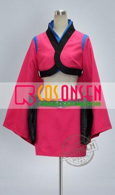 Cosonsen Gintama Sougo Okita Cosplay Costume Full Set With Eye Mask All  Size