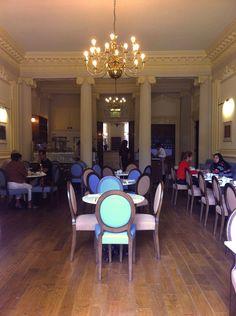 #restaurant #seating #officeblueprint #ROSL #London #eating #tables #open