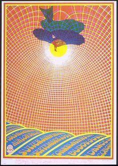San Francisco Rock Poster: Charlatans;  Robert Fried, 1967