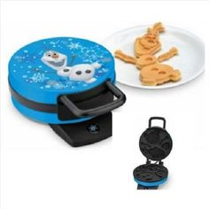 Disney Frozen Olaf Waffle Maker - Makes Olaf the Snowman Waffles - Cool Kitchen Gifts