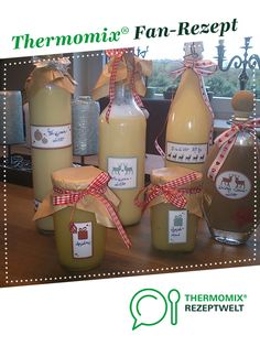 Marzipan liqueur from A Thermomix ® recipe from the drinks category www.de, the Thermomix ® community. Halloween Bottle Labels, Halloween Party Drinks, Party Food And Drinks, Wine Drinks, Veggie Juice, Fruit Juice, Homemade Wine, Vegetable Drinks, Healthy Eating Tips