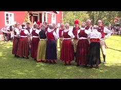 Swedish midsummer - One of the many traditional Swedish folk dances.