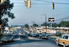 Columbia Pike, looking West, circa Don't think this has been posted before. From an AARP campaign on slides about driving Places Ive Been, Places To Go, Fairfax County, Falls Church, Little River, Home Again, Northern Virginia, Back In The Day