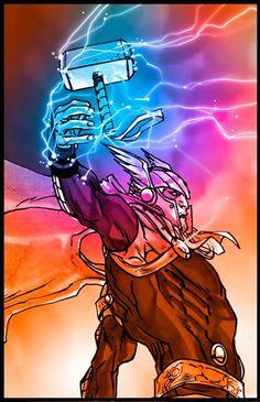 Thor by Carmine De Giandomenico *