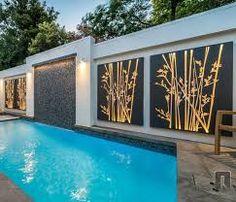Image result for modern garden wall designs