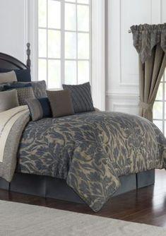 waterford gabion comforter set indigo queen