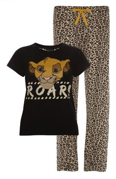 Primark - Lion King Simba PJ Set