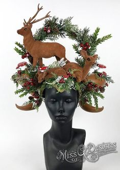 Deer Headdress Headp