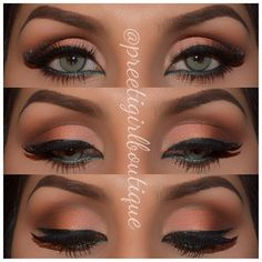 Lovely eye makeup. Would love this.....