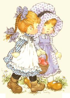 Sarah kay 5 illustration sarah kay, sarah key e holly hobbie Sarah Key, Holly Hobbie, Sarah Kay Imagenes, Vintage Pictures, Cute Pictures, Holly Pictures, Nostalgic Pictures, Decoupage, Cute Little Girls