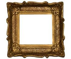 How to Restore Antique Plaster Picture Frames! Great for those frames dumped at Goodwill because they are chipped.