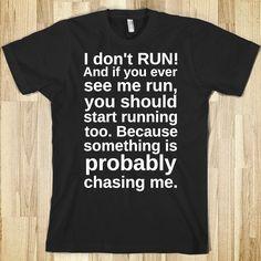 I want this to wear while running around my neighborhood.