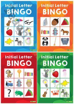 Initial Letter Bingo Teaching Resource