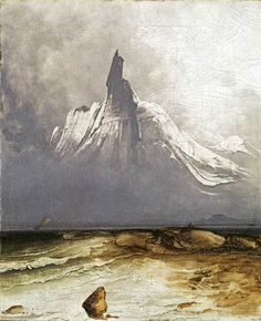 Peder Balke is a little known Norwegian artist. The National Gallery and Northern Norway Art Museum, Tromsø, hope to change that, but is he really a forgotten great? Scandinavian Paintings, Scandinavian Art, Mountain Formation, Illustrations, Illustration Art, Roubaix, National Gallery, Google Art Project, Nordic Art