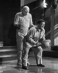 ... Abbott and Costello Meet the Mummy , the last of Abbott and Costello