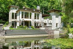 Own Mission House, a contemporary home  just an hour and a half from New York City.