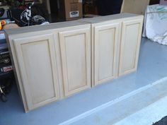 Painting Unfinished Kitchen Cabinets1