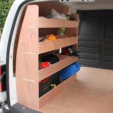 Image result for van shelving