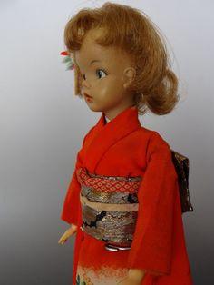 Vintage Tammy Doll Japońskie Kimono Exclusive Zori Outfit Ideal 1960 | eBay